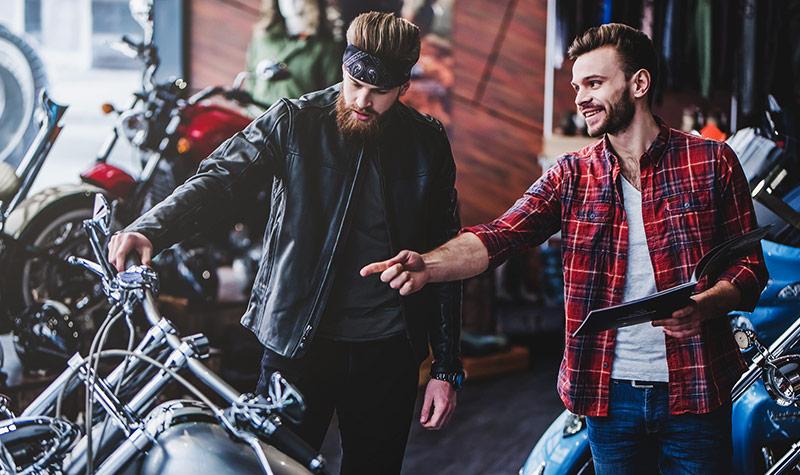 Motorrad Verkäufer Ansbach